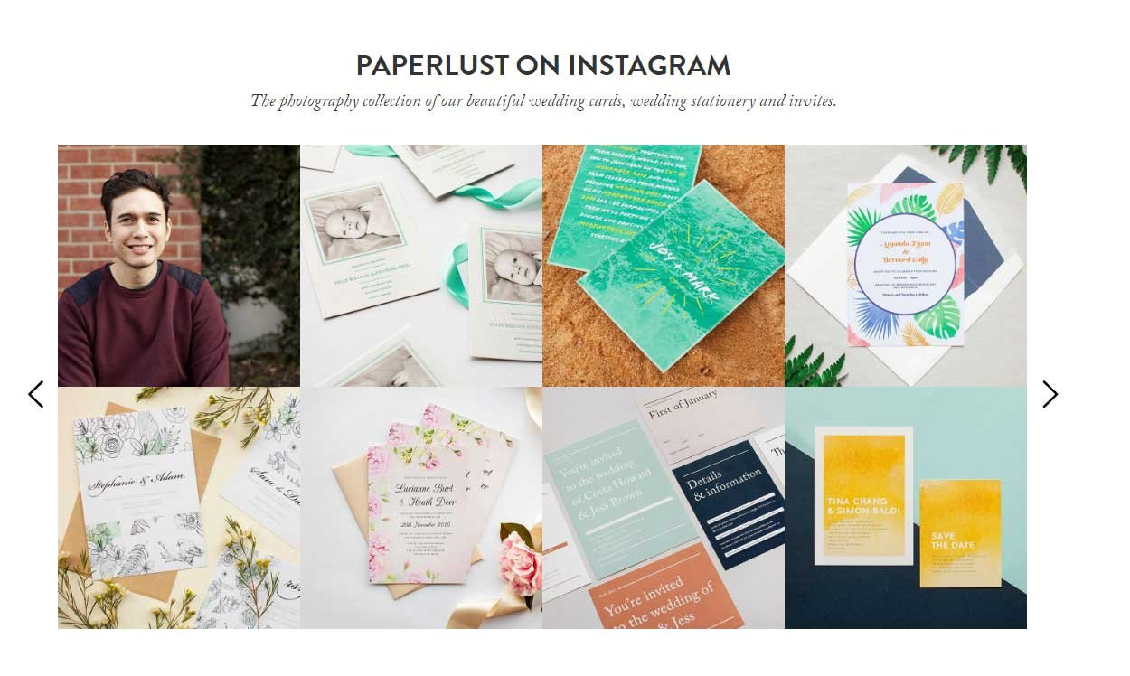 paperlust social media campaign